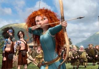 Cena da animação 'Valente', da Pixar (Foto: Divulgação)