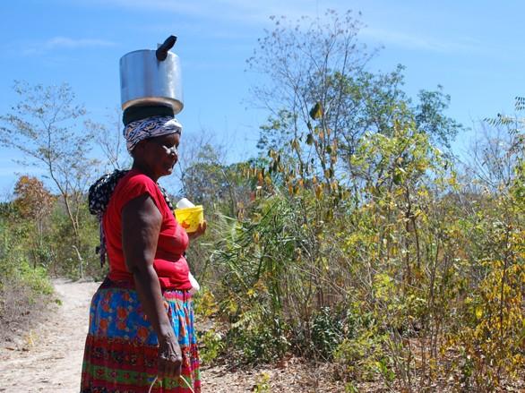 Dona Dainda e seu trabalho na comunidade