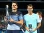 Raonic vence revanche contra Federer e fatura o título de Brisbane