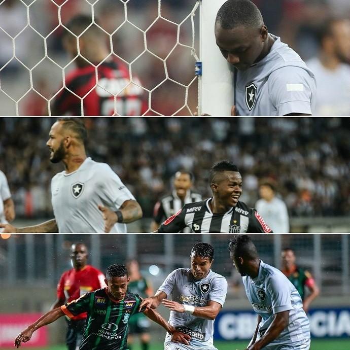675edd2f33007 Maldição da camisa cinza  Botafogo perdeu todas com terceiro uniforme