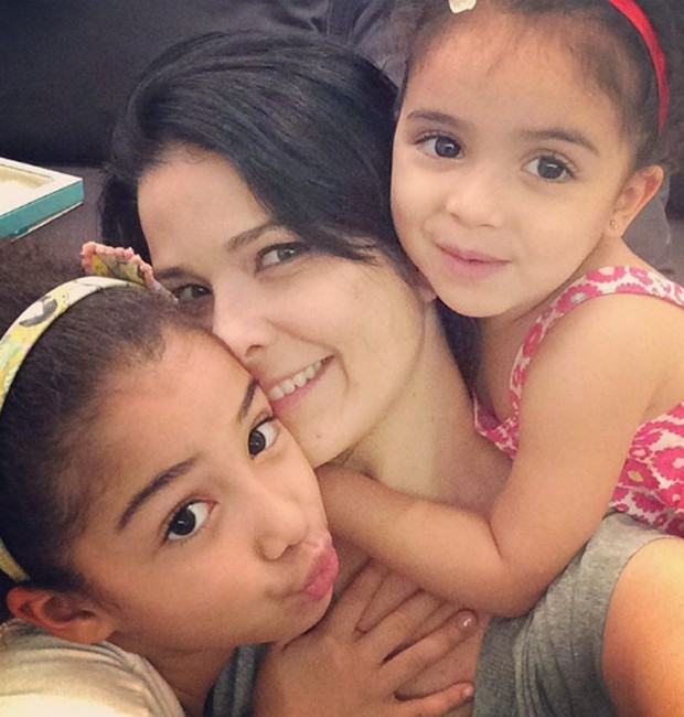 Alícia, Samara Felippo e Lara (Foto: Reprodução/Instagram)