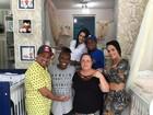 Pepê e Neném ganham móveis para quartinho dos filhos: 'Felizes'