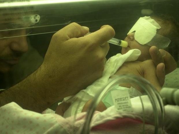 Sofia nasceu prematura e viveu por 1 ano e 4 meses (Foto: Nauro Junior)