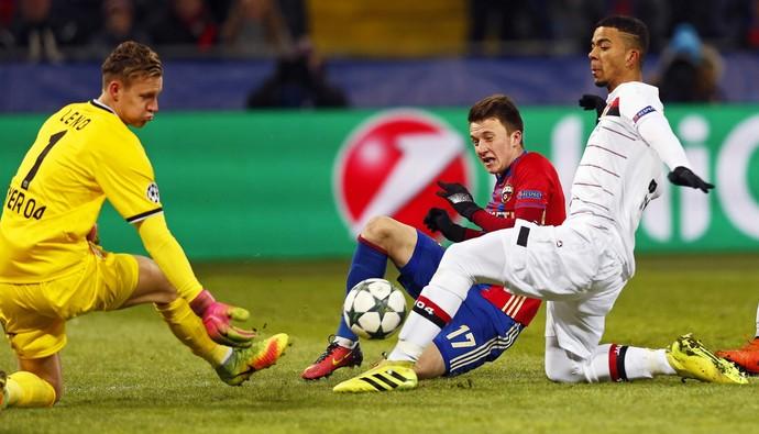 Golovin CSKA x Bayer Leverkusen (Foto: EFE)