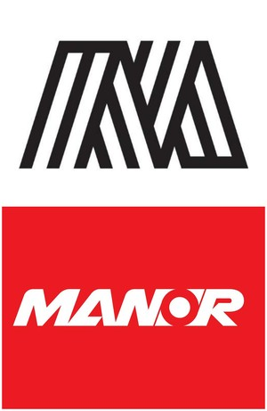 Logo nova e logo antiga da Manor (Foto: Divulgação)