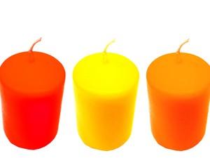Velas coloridas atraem boas energias (Foto: Banco de imagens)