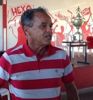 Roberval Davino é apresentado no João Hora (Foto: Felipe Martins)
