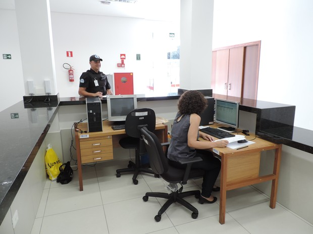 MPE atende no Centro de Presidente Prudente (Foto: Valmir Custódio/G1)