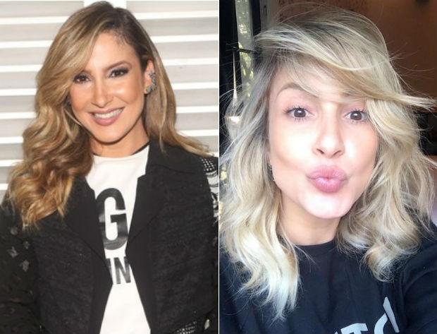 Claudia Leitte: antes e depois (Foto: Iwi Onodera/EGO // Reprodução Instagram)
