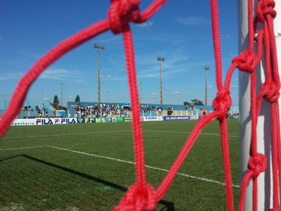 Estádio Jacques da Luz (Foto: Alexandre Cabral/TV Morena)