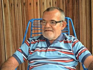 Sebastião Holanda relembra 'erámos homens de aço' (Foto: Tácita Muniz/G1)