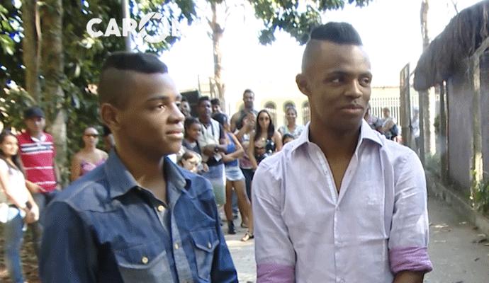 Augusto e Ariel ganhadores do Esquentanejo  (Foto: Divulgação | Carona)