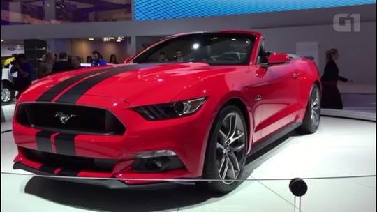 Ford Mustang conversível ganha novo visual na linha 2018