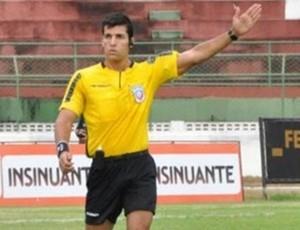 árbitro Diego Pombo Lopez (Foto: Site Oficial)