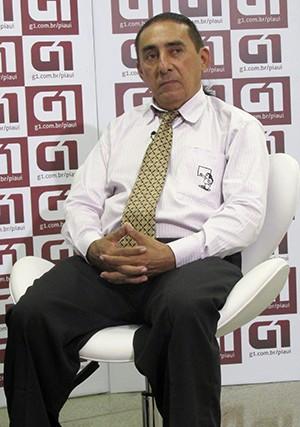 Entrevista com Neto Sambaiba (Foto: Jaqueliny Siqueira/ G1)