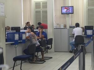 Atendimento nas agências são rápidos, mas perícia leva meses a ser realizada (Foto: Natália Souza/G1)