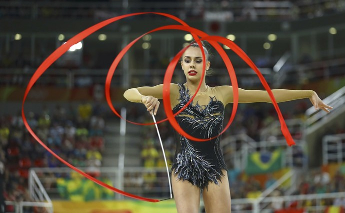 Margarita Mamun Rússia Ginástica Rítmica, Olimpíada 2016 (Foto: REUTERS/Mike Blake)