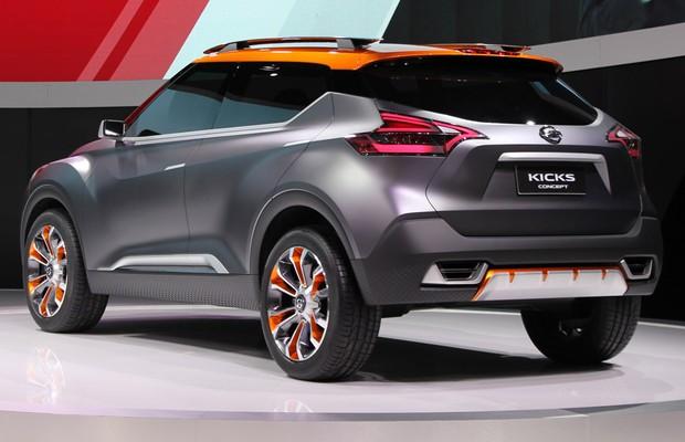 Nissan Kicks no Salão do Automóvel 2014 (Foto: Autoesporte)