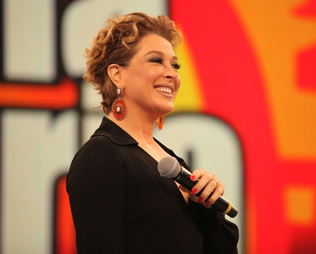 Claudia Raia participa do quadro 'Minha história no domingão' (Foto: Fabiano Battaglin/Gshow)