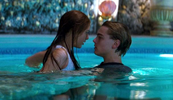Claire Danes e Leonardo DiCaprio, em 'Romeu + Julieta' (1996) (Foto: Divulgação)