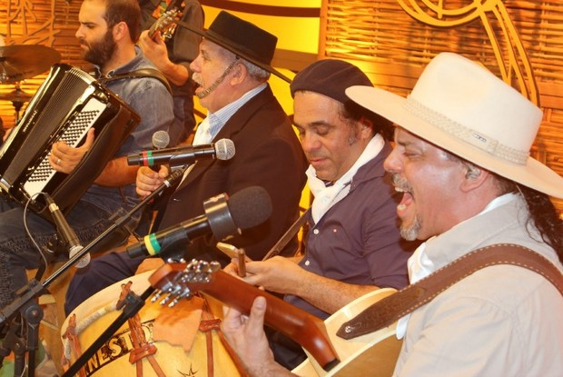 Homenagem Neto Fagundes (Foto: Nice Sordi/RBS TV)