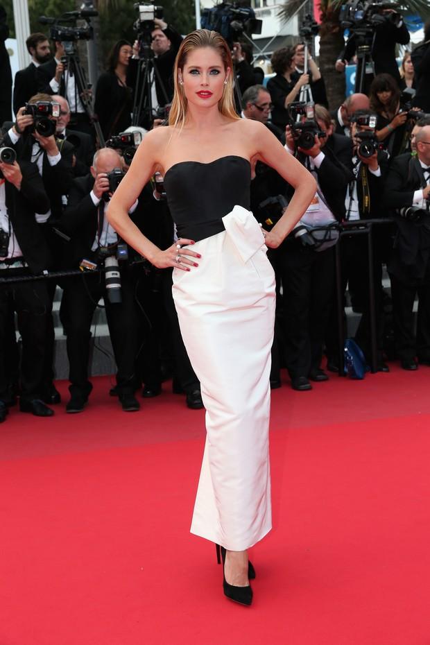 Doutzen Kroes no Festival de Cannes (Foto: Getty Images)