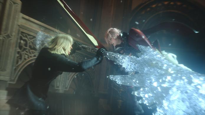 Cenas marcantes são alguns dos pontos altos da narrativa em Lightning Returns. (Foto: Reprodução)