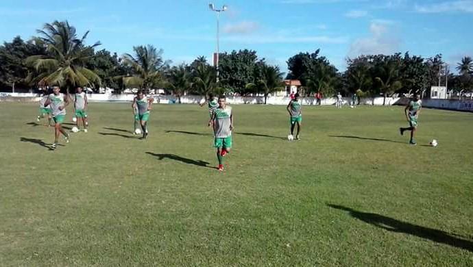Alecrim treino jogadores (Foto: Diogenes Baracho/Divulgação)
