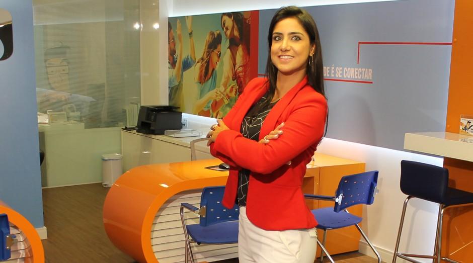 Poliana Ferraz, da Super Estágios: empresa faturou R$ 30 milhões em 2016 (Foto: Divulgação)