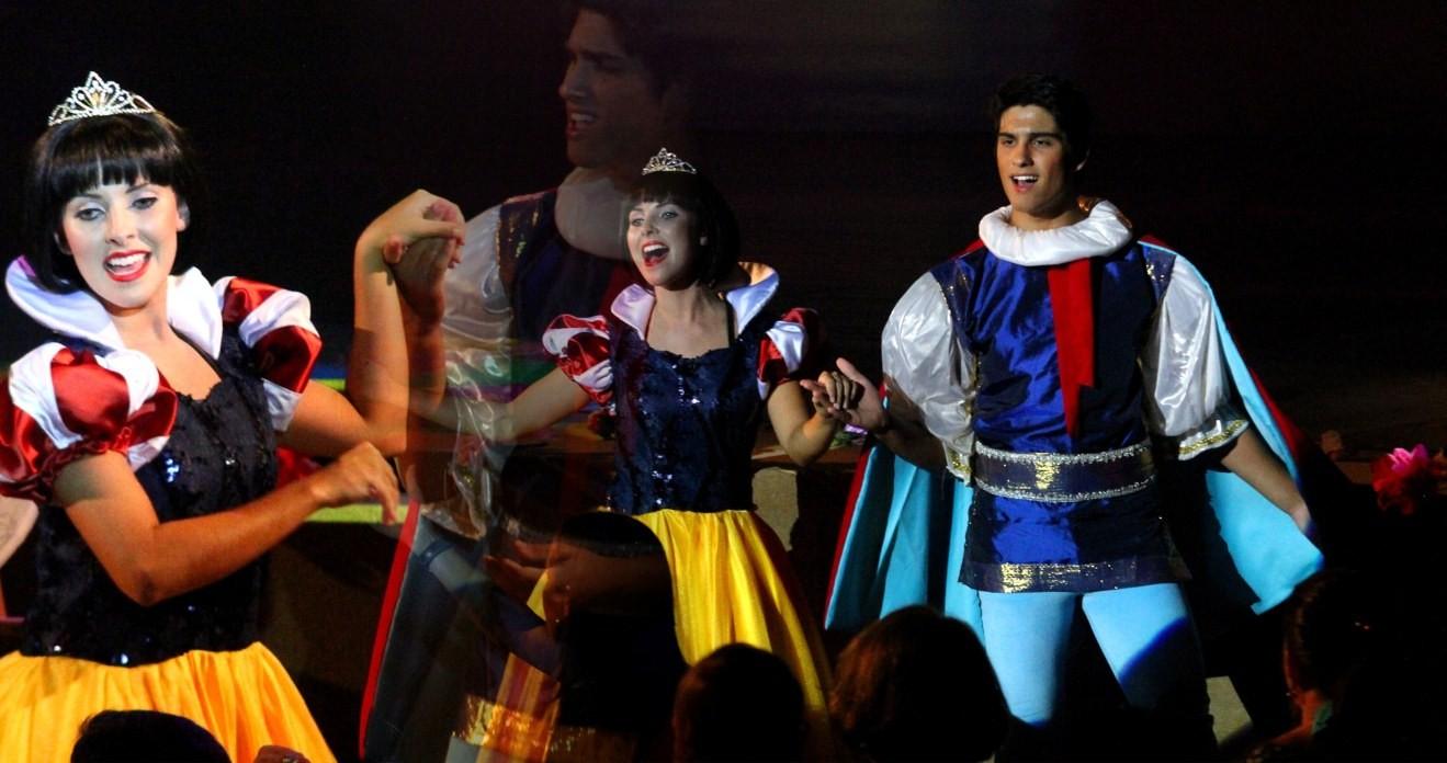 Espetáculo Show das Princesas (Foto: divulgação)