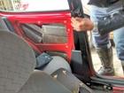 Carro 'recheado' com quase 100 kg de maconha é apreendido em rodovia