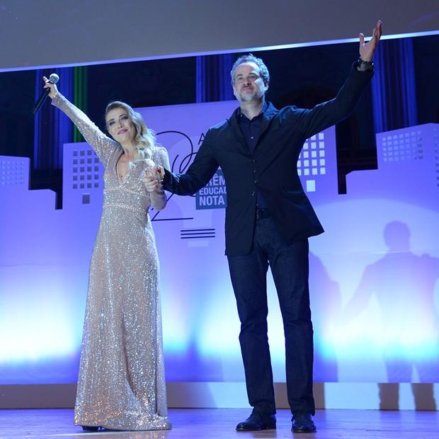 Luiza Possi e Dan Stulbach (Foto: Divulgação/TV Globo)