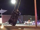 Motorista bêbado é preso após acidente incrível nos EUA