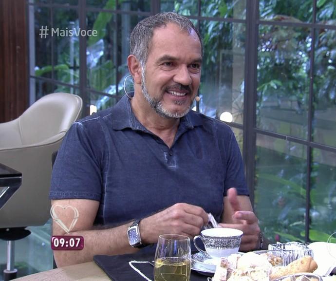 Humberto Martins no 'Mais Você' (Foto: TV Globo)