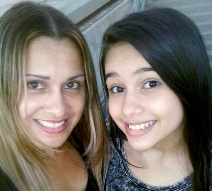 Mãe, Glaucia Paiva e a filha Manu Paiva (Foto: Arquivo Pessoal)