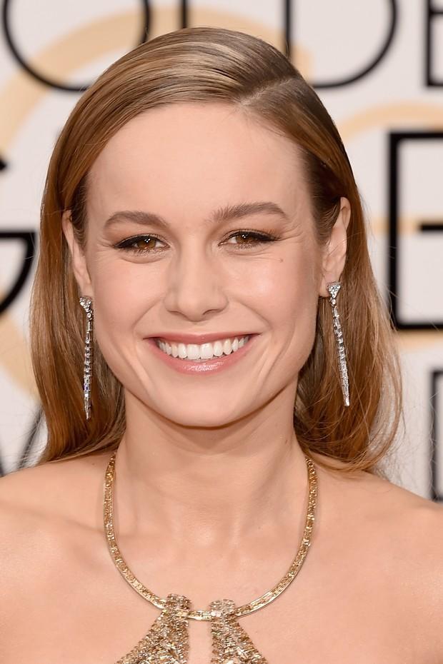 Cabelos Nude: Brie Larson (Foto: Getty Images)