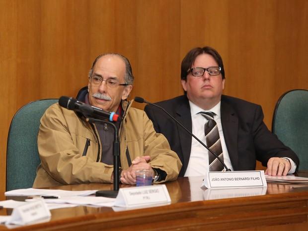 O funcionário da empresa Saipemi, João Antônio Bernardi, suspeito de envolvimento no esquema de corrupção (Foto: Giuliano Gomes/ PRPRESS)