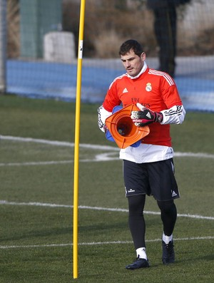 Treino Real Madrid Iker Casillas (Foto: EfeServicios)