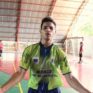 Wesley marcou nove gols na manhã deste domingo, contra o Belo Horizonte (Foto: Gabriel Mansur)