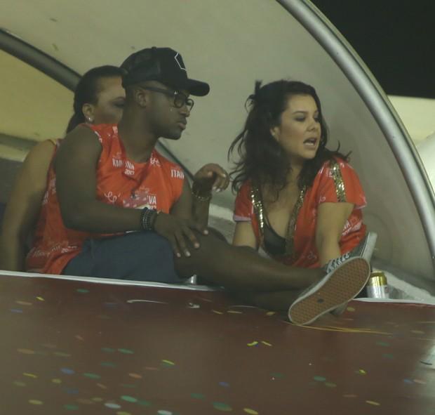Thiaguinho e Fernanda Souza (Foto: Anderson Borde/ Agnews)