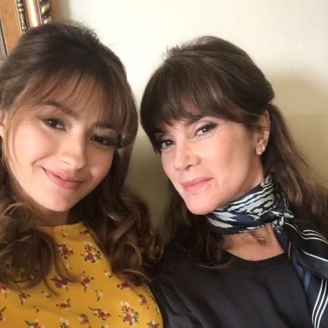 Carol Oliveira e Mônica Torres darão vida a mesma personagem em 'O Apocalipse' (Foto: Divulgação)