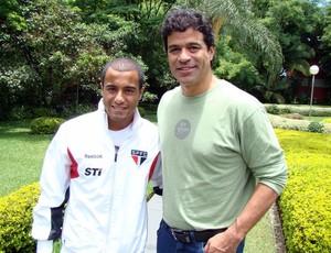 Raí e Lucas São Paulo (Foto: Site oficial do São Paulo FC)