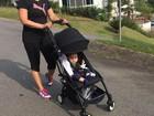 Suzana Alves posta foto de passeio com o filho, Benjamin
