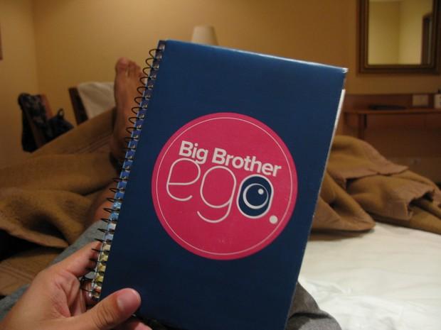 Yuri - Caderninho para escrever sobre minhas experiências (Foto: Yuri Fernandes / EGO)