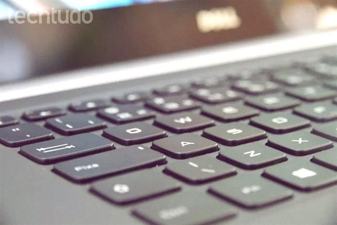 Teclado de notebook (Home Globo) (Foto: TechTudo)