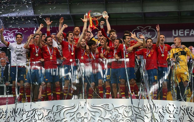 Espanha it&#225;lia final campe&#227; eurocopa (Foto: Ag&#234;ncia Getty Images)