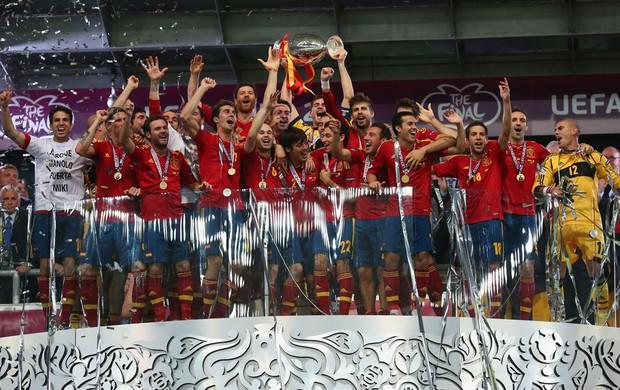 Espanha itália final campeã eurocopa (Foto: Agência Getty Images)
