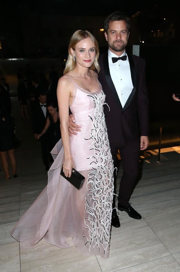Diane Kruger e Joshua Jackson (Foto: AFP)