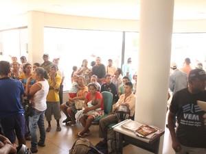 Famílias ocupam sede do Incra em Araguaína (Foto: Divulgação/Comissão Pastoral da Terra)