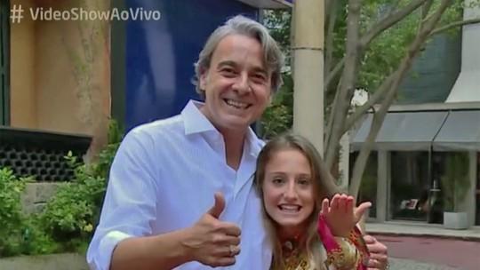 Alexandre Borges e Bruna Giphao falam da amizade surgida durante gravações de 'Avenida Brasil'